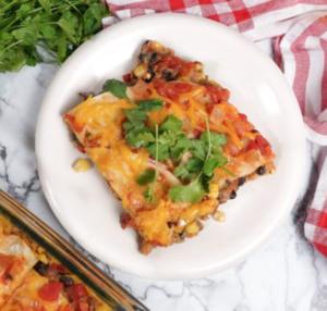 Plant-Based Taco Lasagna by Daiya