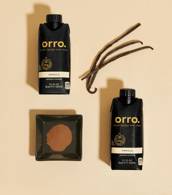 Orro Cinnamon Vanilla Shake