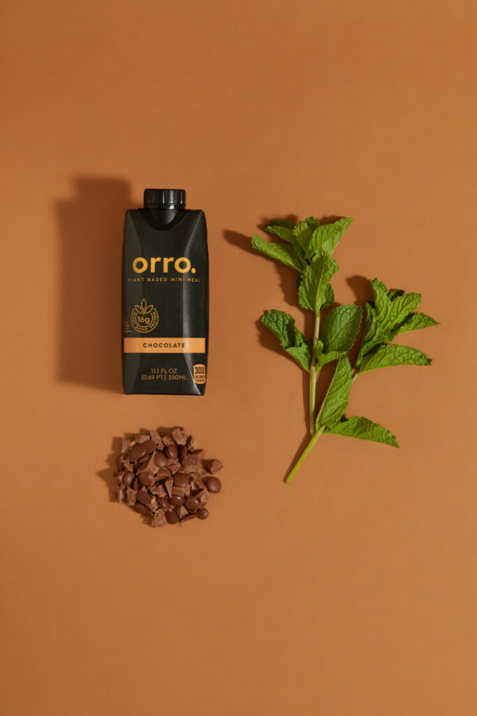 Orro Mint Chocolate Chip Shake