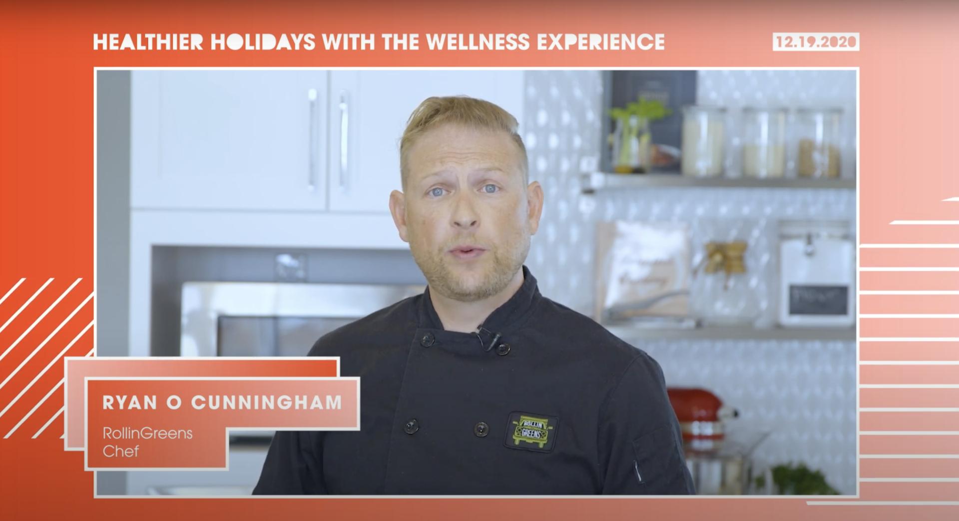 Teriyaki & Pineapple Eggroll with RollinGreens | Chef Ryan O Cunningham