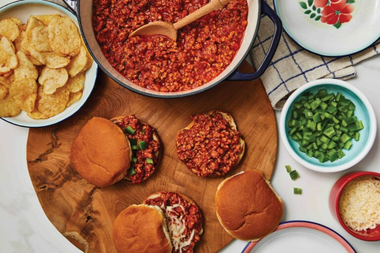 Easy Italian-Style Sloppy Joes