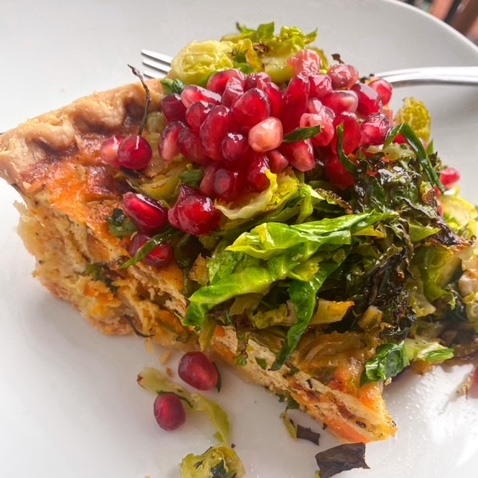 Healthy Holiday Quiche