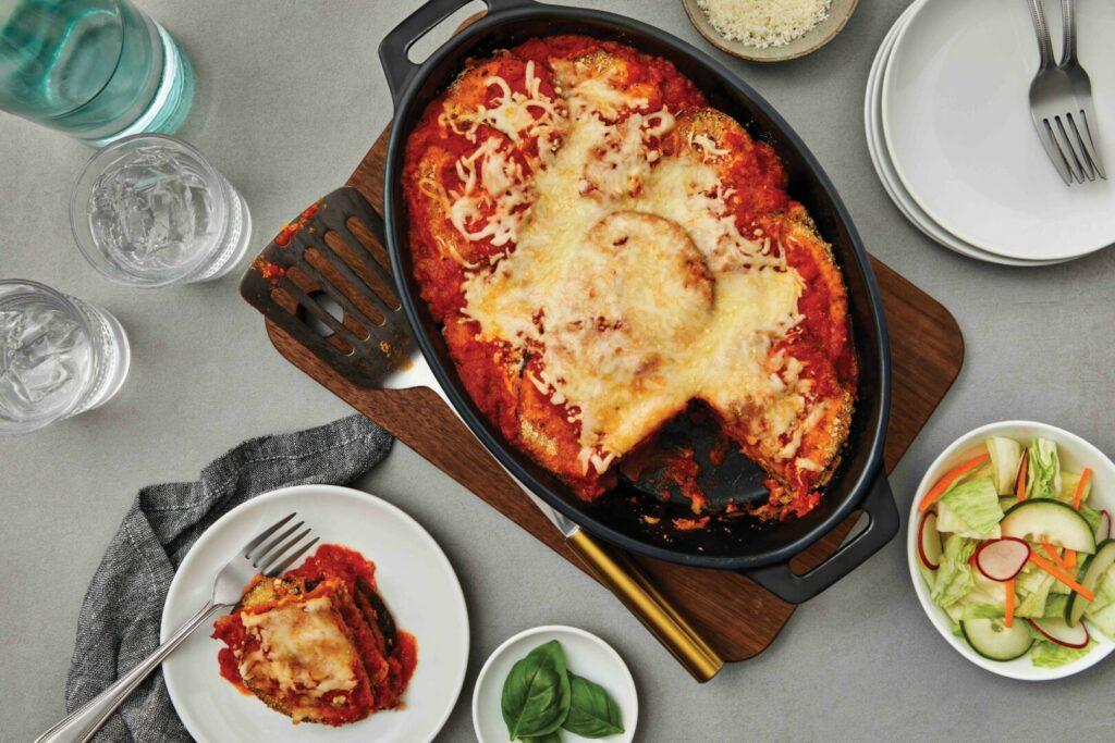 Oven-Baked Eggplant Parmesan