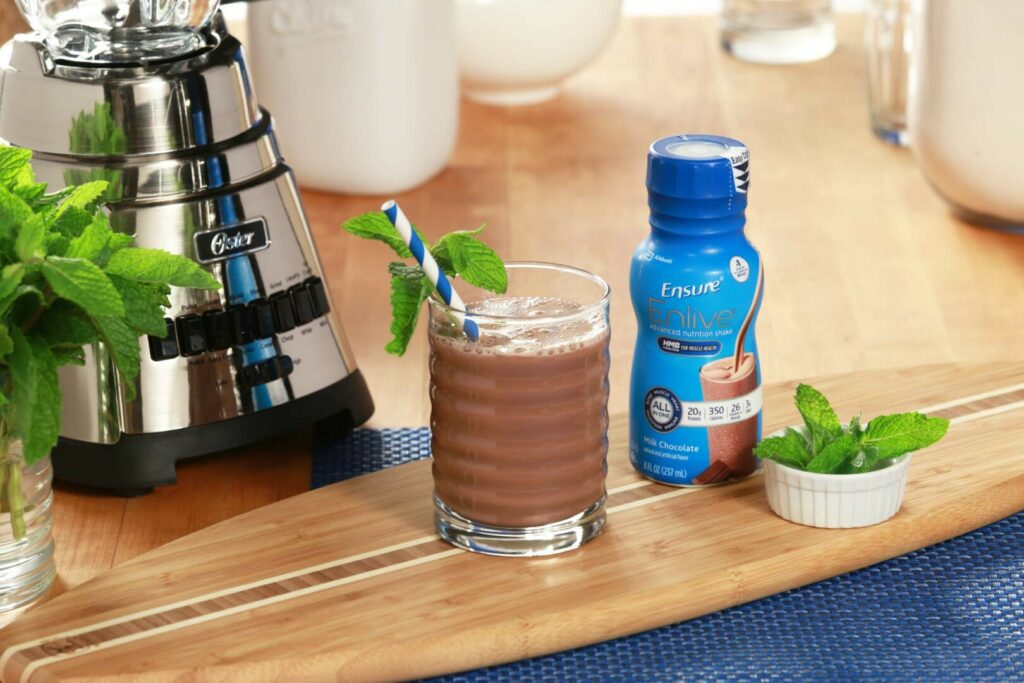 Minty Chocolate Shake