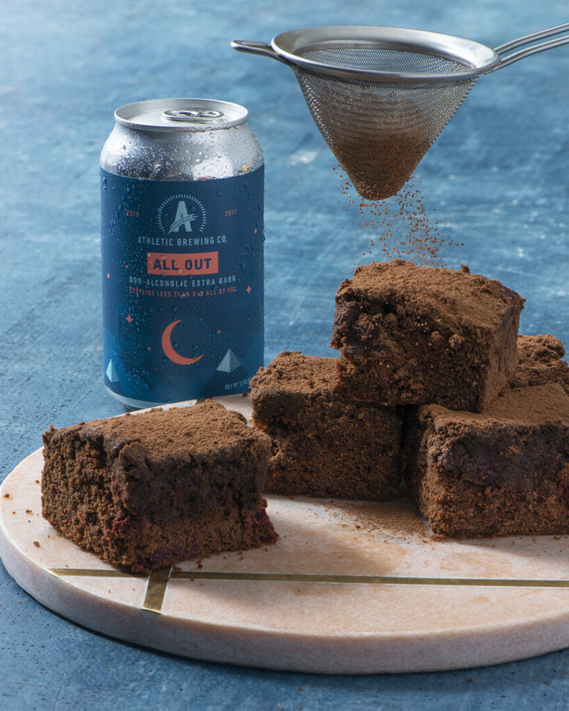 All Out Stout Brownies