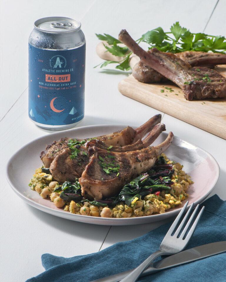 Stout Grilled Lamb Chops