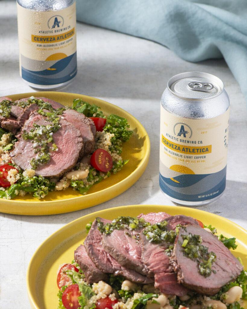Grilled Steak Salad With Chimichurri Vinaigrette