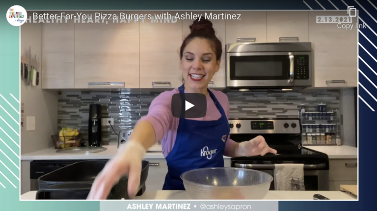 Better-For-You Pizza Burgers with Ashley Martinez