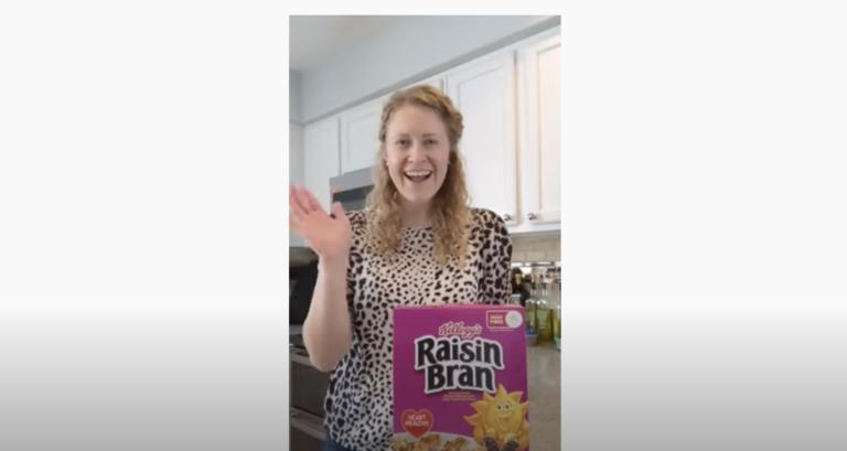 Raisin Bran Breakfast Bars with a Kroger Registered Dietitian