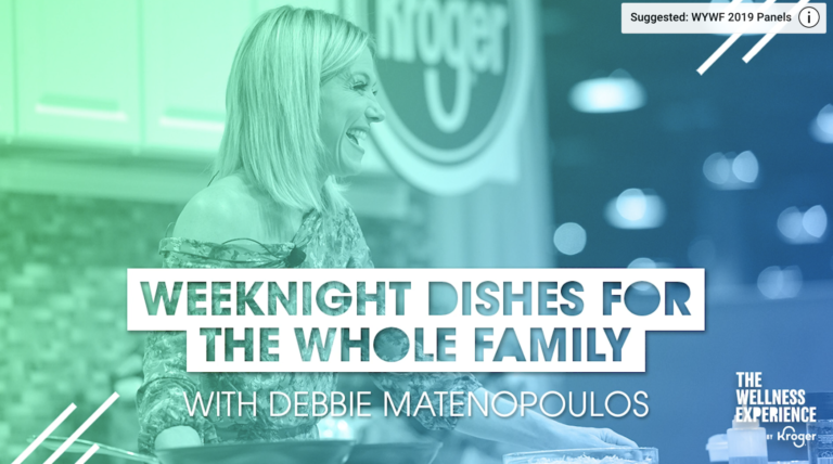 Debbie Matenopoulos | Weeknight Dishes for the Whole Family