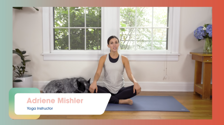 Mindful Morning Yoga for Mental Health | Yoga with Adriene