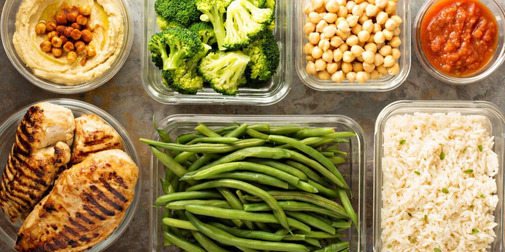 A Dietitian's Key Tips For Meal Prepping