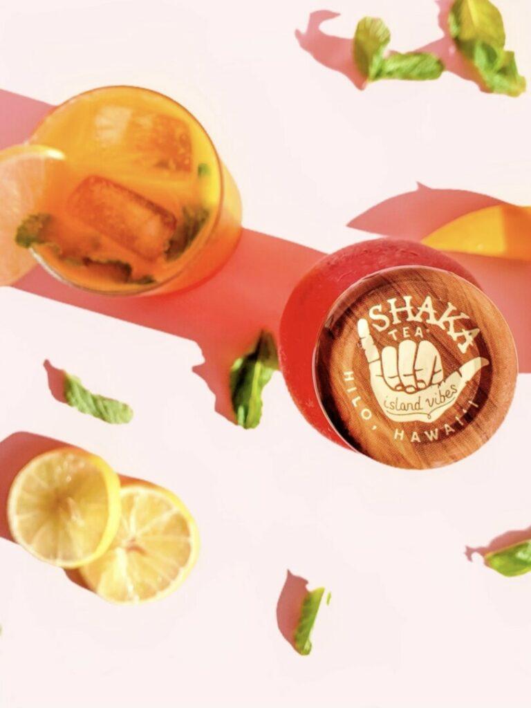 Mango Hibiscus Mojito Iced Tea