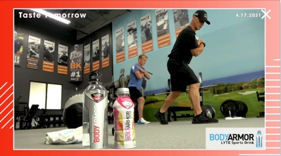 BODYARMOR Workout Train Like A Pro with Joey D.