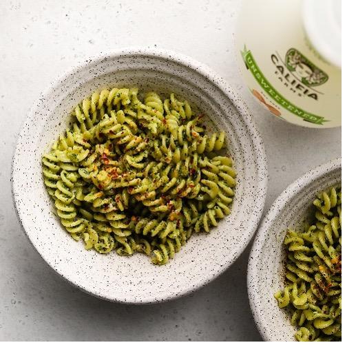 Mixed Herb Pesto Pasta