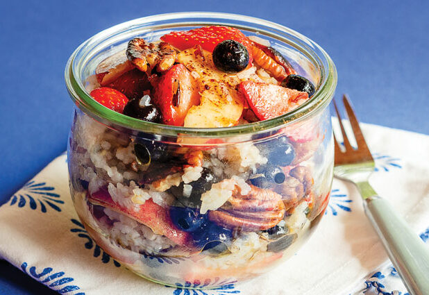 Wild Rice and Summer Fruit Salad